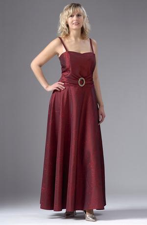 Plesové dlouhé šaty pro plnoštíhlé a XXL postavy.