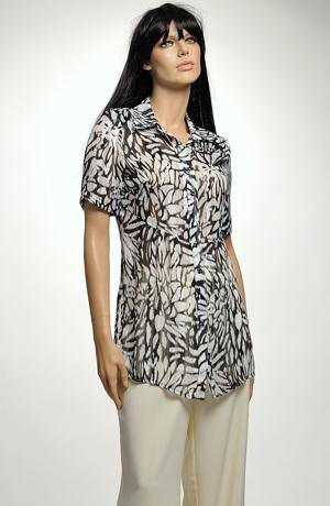 Dámská košile ze šifonu