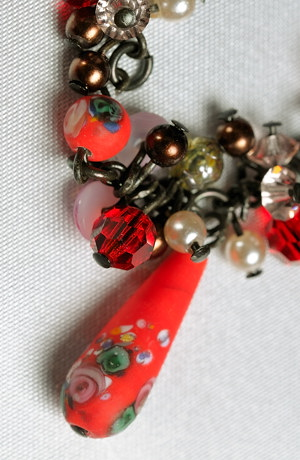 šperky zbytky