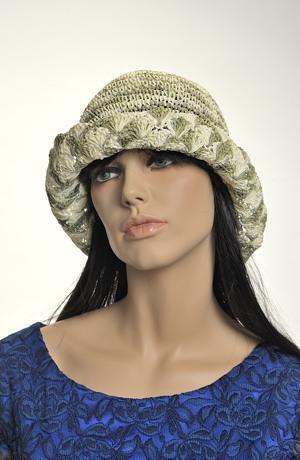 Dámský klobouk do kabelky