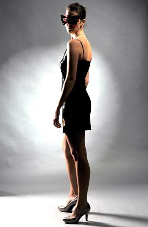 Šaty do tanečních na ramínka -sleva