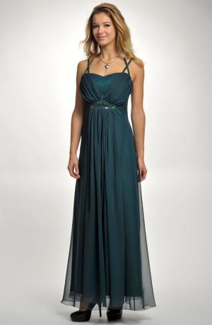 Luxusní model šatů ala antika na maturitní ples