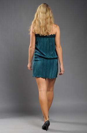 Prádlové šaty z plisé pleteniny, vel. 38, 40