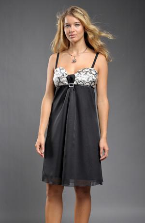 Šaty do sedýlka s řasením