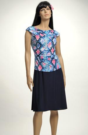 Letní top k sukni se vzorem
