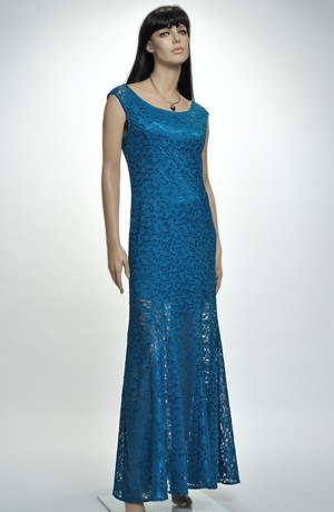 Velmi elegantní plesové šaty z luxusní krajky, Velikost 38, 40, 42,