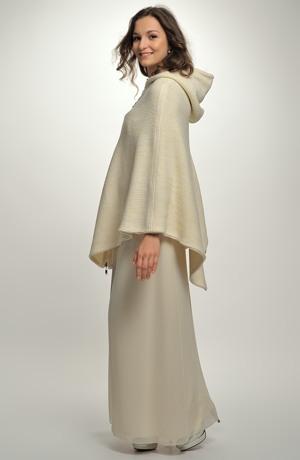 Pončo vhodné i na svatební šaty
