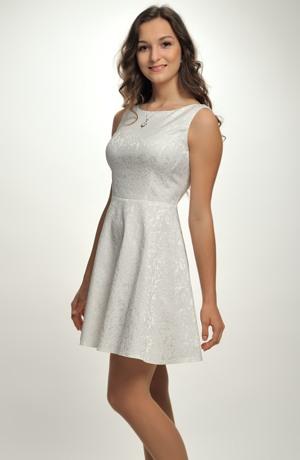 Dívčí společenské šaty vhodné i jako svatební