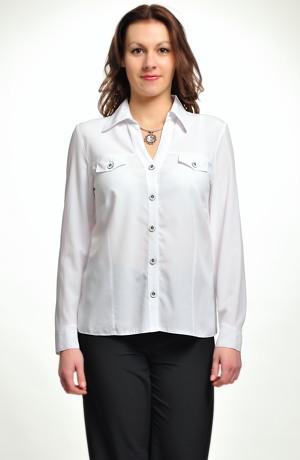 Dámská košile větší velikost