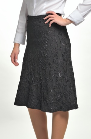 Společenská sukně černá - sleva