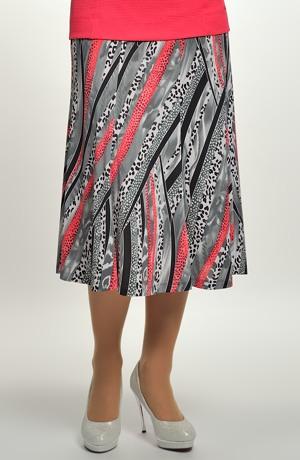 Dámská elegantní dílová sukně