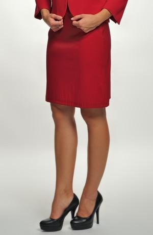 Dámská sukně z elastického taftu - sleva
