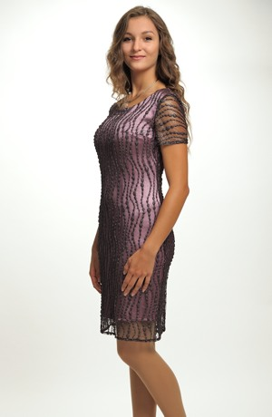 Dámské elegantní koktejlové šaty