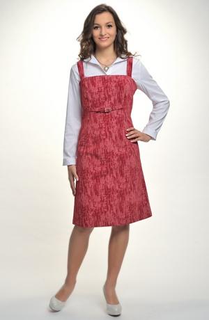 Šatová sukně z elastického manžestru