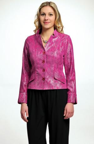 Elegantní dámské sako ve výrazné barvě