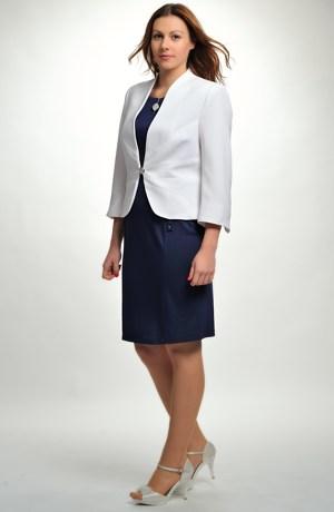 Pouzdrové šaty z elastické pleteniny