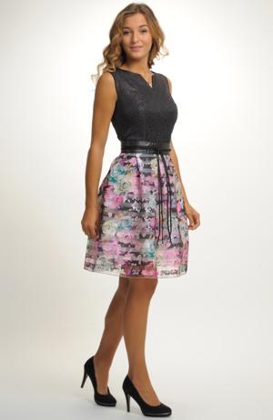 Společenský top se sukní