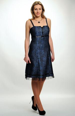 Princesové krátké šaty na ramínka. Velikost 38, 40, 42, 44, 46.