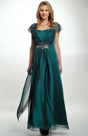 Elegantní plesové šaty pro moletky v antickém stylu