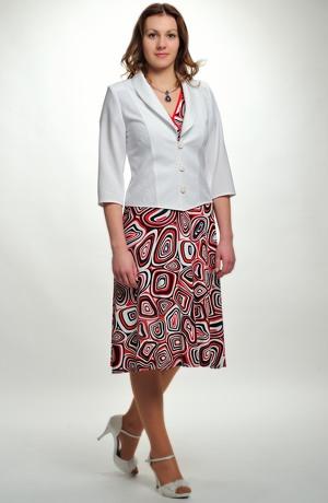 Barevné letní šaty z viskózy