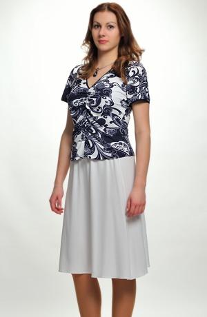 Letní top se sukní