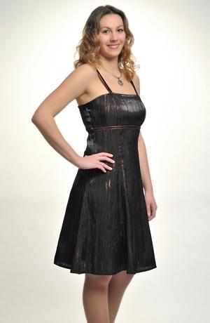 Mladistvé dívčí společenské šaty do sedýlka. Velikosti 36, 38, 40, 42