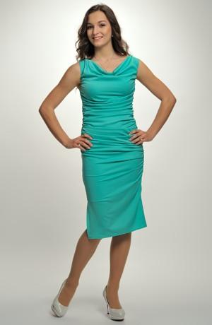 Dámské šaty pouzdrovky - společenské šaty pouzdrového střihu. Vel 36,38,40