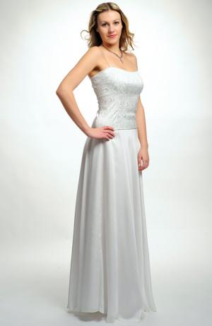 Kolová svatební sukně