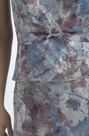 Letní komplet s květovaným vzorem - nadčasový outfit.
