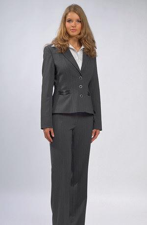 Business dámský kalhotový kostýmek