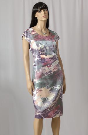 Dámský společenský kostýmek - dvojkomplet, šaty a sukně