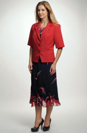 Dámský letní trojkomplet se sukní