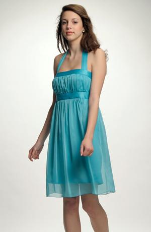 Krátké dívčí společenské šaty i pro družičky, svatební šaty na převlečení. Vel. 38, 40