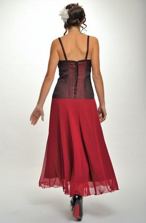 Společenské korzetové šaty do divadla, na koncert, na ples -vel.40,42