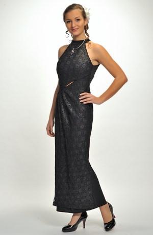 Dámské plesové dlouhé šaty pouzdrového střihu, vel. 36, 38, 40, 42