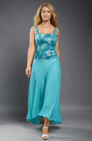 Modelové společenské šaty