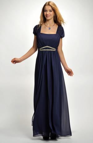 Dlouhé společenské šaty pro plnoštíhlé a silnější postavy, XL, XXL, XXXL a více