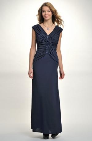 Dámské dlouhé společenské šaty na široká raminka vhodné i na ples. Vel. 36, 38