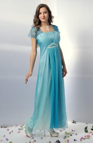 Dlouhé společenské šaty v antického střihu jako svatební antické šaty, vel 38