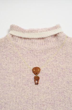 Nápadité dřevěné šperky