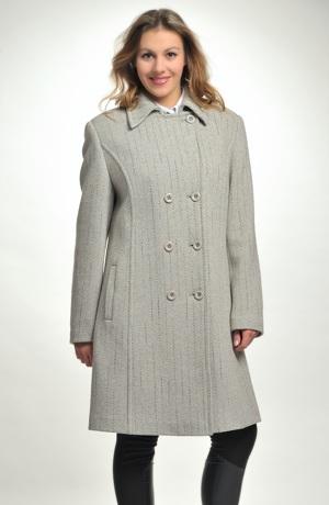 Dámský kabát pod kolena