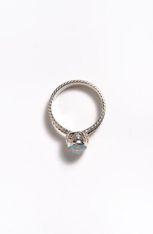 Stříbrný prstýnek s ETIOPSKÝM OPÁLEM