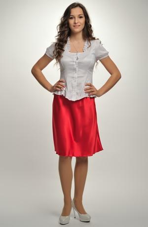 Společenská krátká sukně