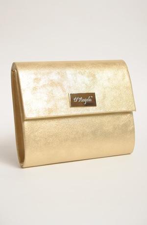 Zlatá kabelka na ples
