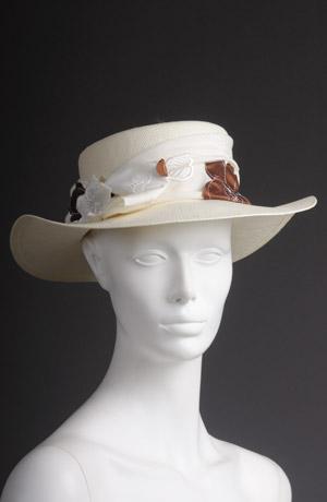 Dámský klobouk na léto
