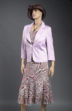 Lehký šifónový dámský kostýmek