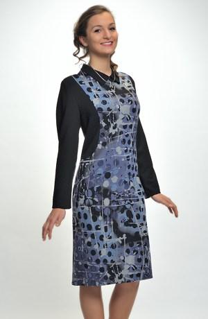 Zeštíhlující pouzdrové šaty vhodné do práce