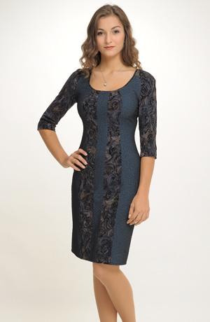 Zeštíhlující pouzdrové šaty do kanceláře i do recepce
