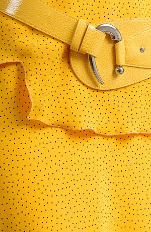Letní komplet v kanárkově žluté barvě
