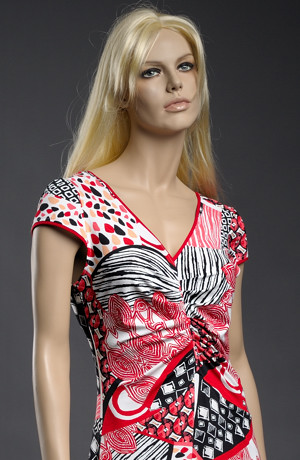 Lehké viskózové letní šaty